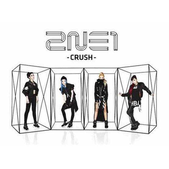 CD 2NE1 Album CRUSH (white)