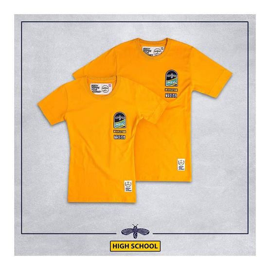 เสื้อยืด BEESY High school เหลือง