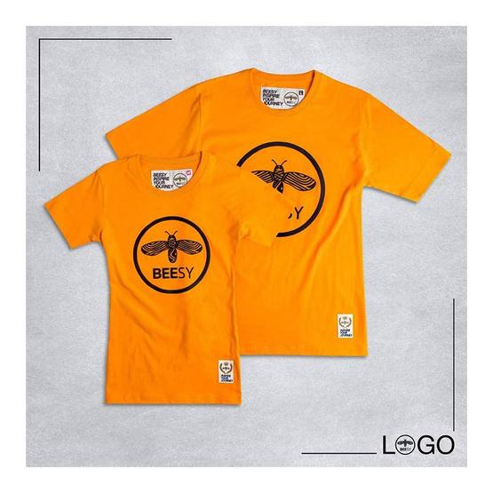เสื้อยืด BEESY LOGO เหลือง