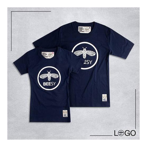 เสื้อยืด BEESY LOGO กรม