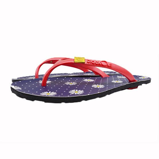 BlackOut รองเท้า รุ่น Flipper สีน้ำเงิน