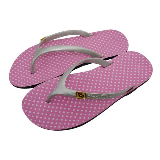 BlackOut รองเท้า รุ่น Flipper สีชมพู