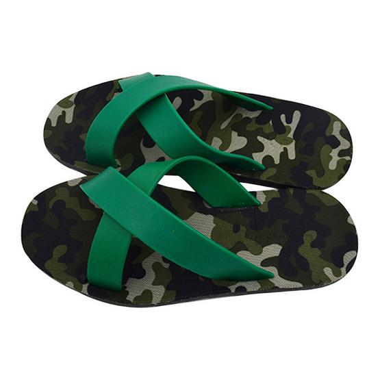 BlackOut รองเท้า รุ่น Cross สีเขียว