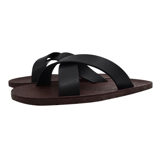 BlackOut รองเท้า รุ่น Cross สีน้ำตาล