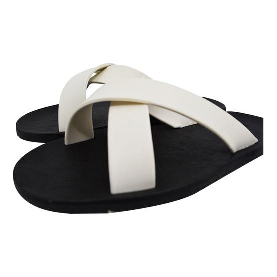 BlackOut รองเท้า รุ่น Cross สีขาว