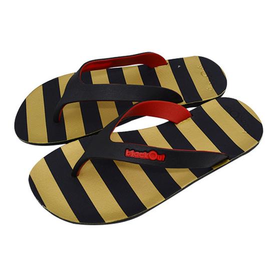 BlackOut รองเท้า รุ่น Flipper สีเหลือง