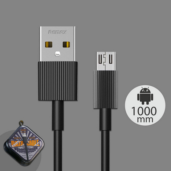 Remax Micro Cable รุ่น RC-120m For Android