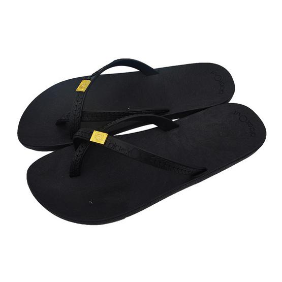 BlackOut รองเท้า รุ่น Toeloop สีดำ