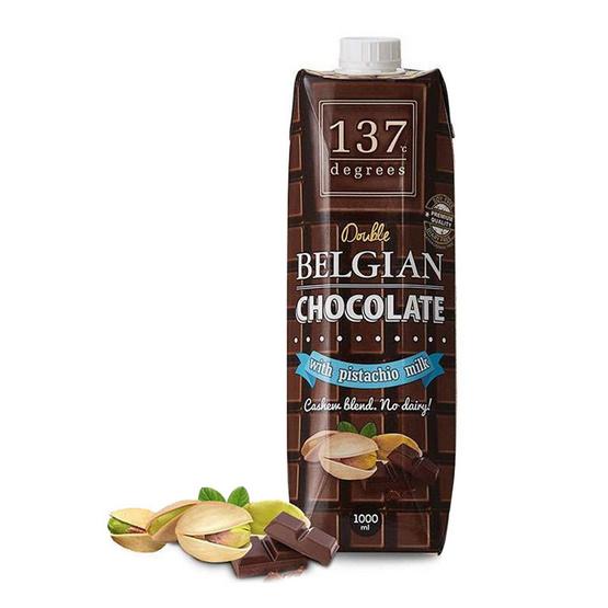 137 ดีกรี นมพิสตาชิโอ สูตรดับเบิลช็อคโกแลต ขนาด 1000 มล.