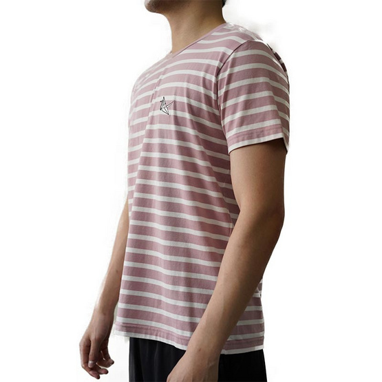 FQ&L  เสื้อยืด ( FMTAH-010-R4 ) สี PINK