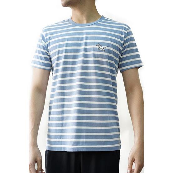 FQ&L  เสื้อยืด ( FMTAH-010-S6 ) สี BLUE
