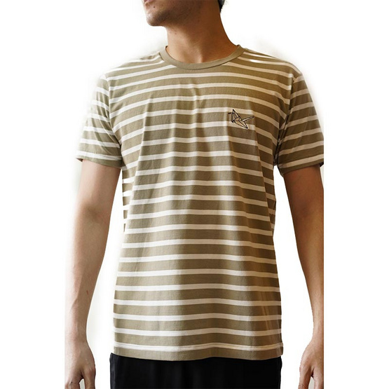 FQ&L  เสื้อยืด ( FMTAH-010-G8 ) สี L.GREEN