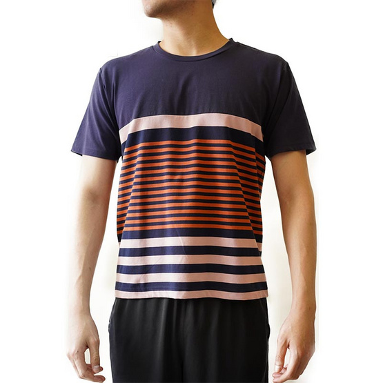 FQ&L  เสื้อยืด (FMTAH-011-S9) สี BLUE