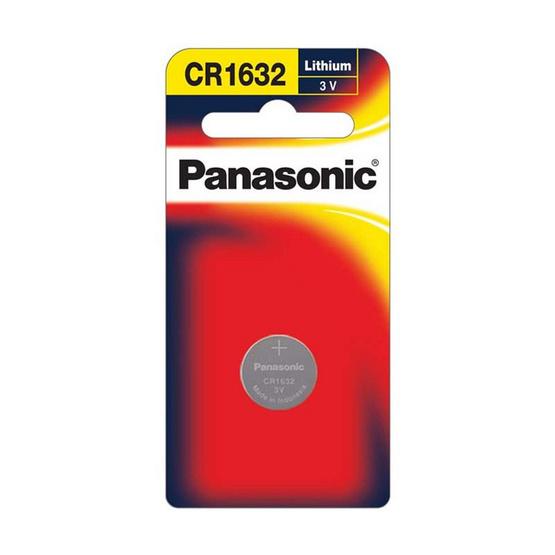 Panasonic ถ่านเม็ดกระดุม 3V CR-1632PT/1B ขนาด 16 x 3.2 mm.