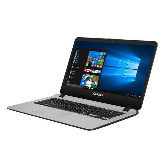Asus Notebook X407UF-BV054T i3-7020U 2.3GH 4G 1TB+16G V2G W10 Stary Grey IMR with hairline