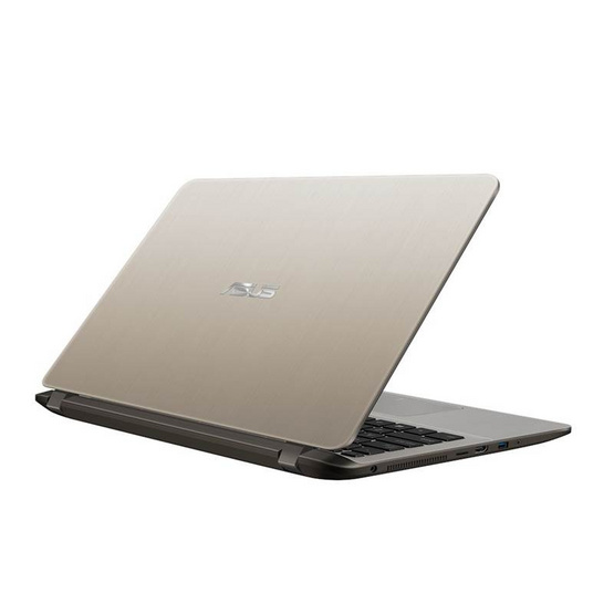 Asus Notebook X407UF-BV048T i5-8250U 1.6GH 4G SSD256 V2G W10 Icicle Gold IMR with hairline