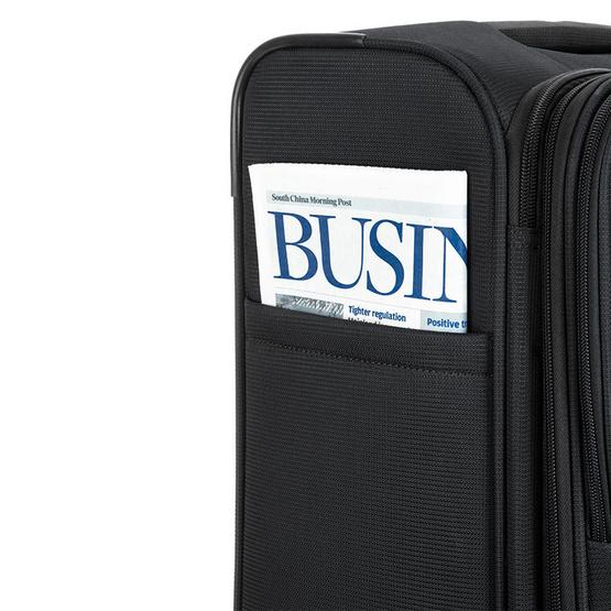 American Tourister กระเป๋าเดินทางรุ่น OREGON  67/24 TSA EXP สี JET BLACK