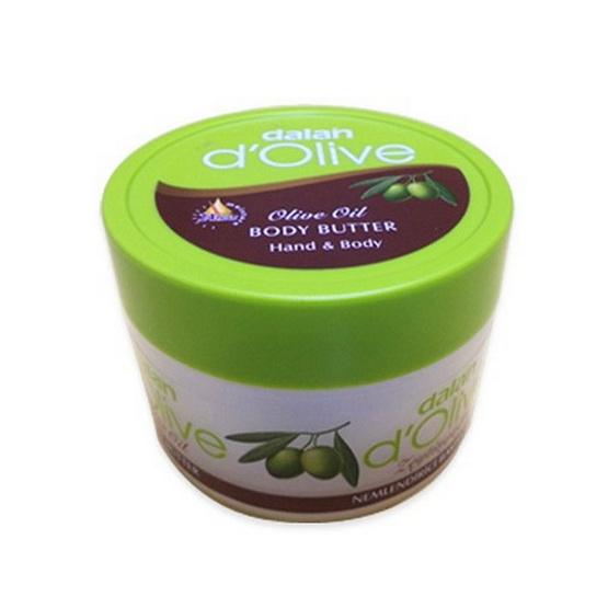 Dalan d'Olive Body Butter. White Colour Lotion Item 250 mL.