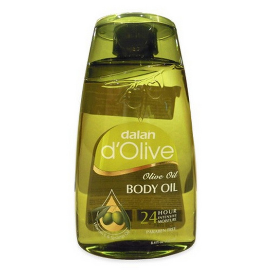 Dalan d'Olive Body Oil Colourless Lotion Item 250 mL.