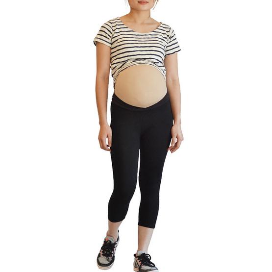 ไอแอมมัม เลกกิ้งคนท้องเอวต่ำ ขา 5 ส่วน ไซส์ XL (แพ็ค 2 ชิ้น)