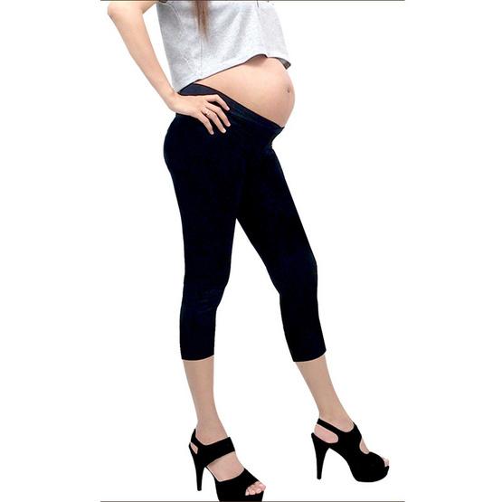 ไอแอมมัม เลกกิ้งคนท้องเอวต่ำ ขา 5 ส่วน ไซส์ XXL (แพ็ค 2 ชิ้น)