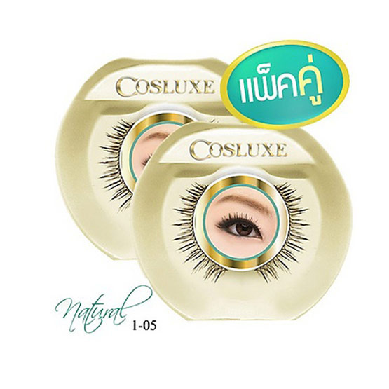 Cosluxe wanderlust eyelashes natural 1-05