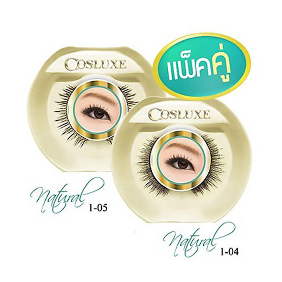 Cosluxe eyelash natural#1-04+1-05