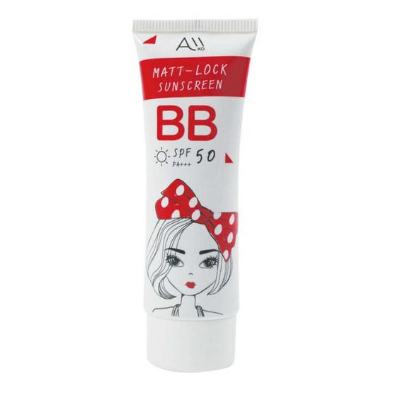 AIIKO MATT LOCK SUNSCREEN BB SPF 50 PA+++ 30 ml