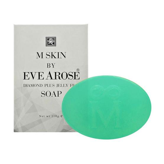 Evearose M SKIN DIAMOND PLUS JELLY FISH SOAP 110 g
