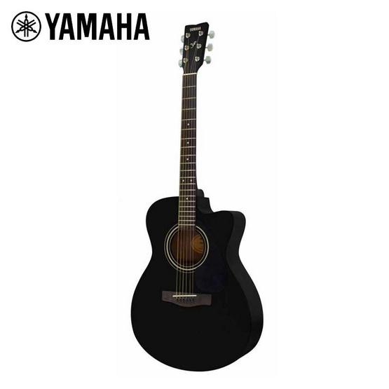 YAMAHA Acoustic Guitar กีต้าร์โปร่ง รุ่น FS100C สีดำ