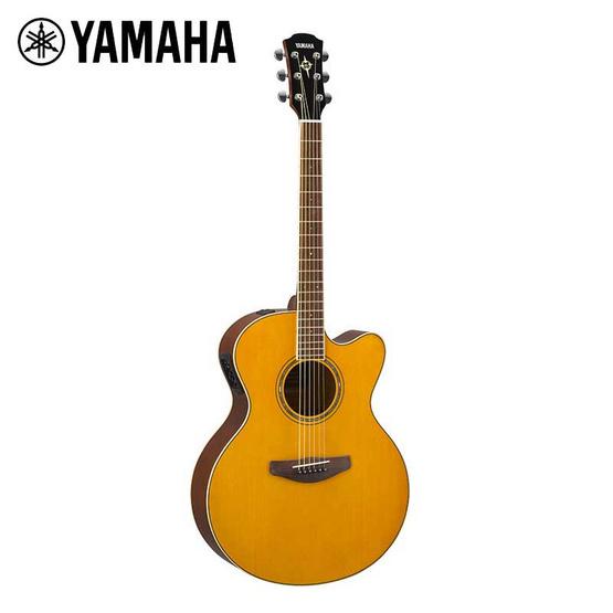 YAMAHA กีต้าร์โปร่งไฟฟ้า รุ่น CPX600 VINTAGE TINT