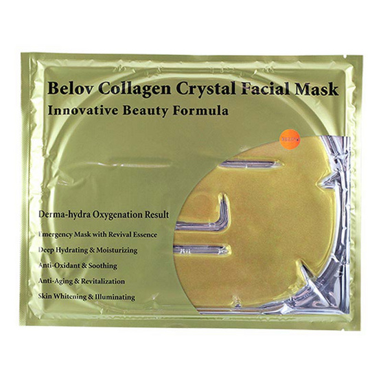 BELOV COLLAGEN CRYSTAL FACIAL MASK GOLD 60 g
