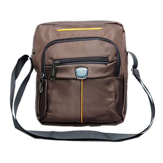 กระเป๋าสะพาย Dolphin 15234 สีน้ำตาล