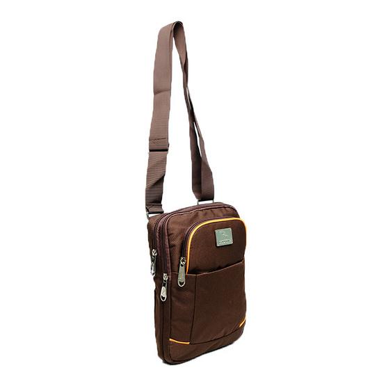 กระเป๋าสะพาย Dolphin 8966 สีน้ำตาล