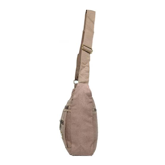 กระเป๋าสะพาย Dolphin (K) 001 สีน้ำตาล