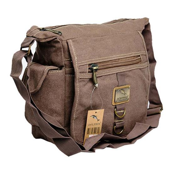 กระเป๋าสะพาย Dolphin (K) 8410 สีน้ำตาล