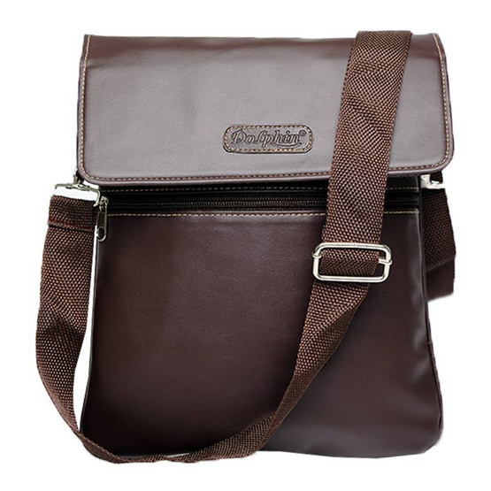 กระเป๋า Dolphin PU D809 สีน้ำตาล