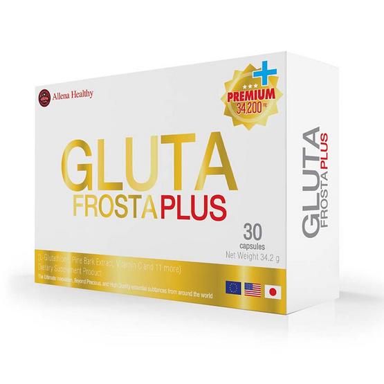 Gluta Frosta plus กลูต้าฟรอสต้าพลัส 30 แคปซูล