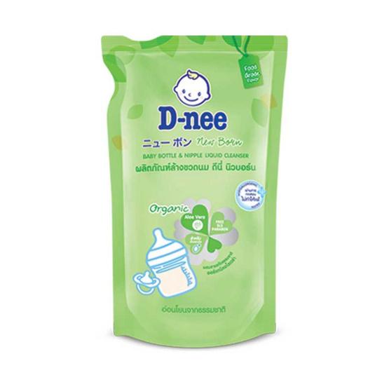D-nee น้ำยาล้างขวดนม นิวบอร์น 600 มล. ถุงเติม