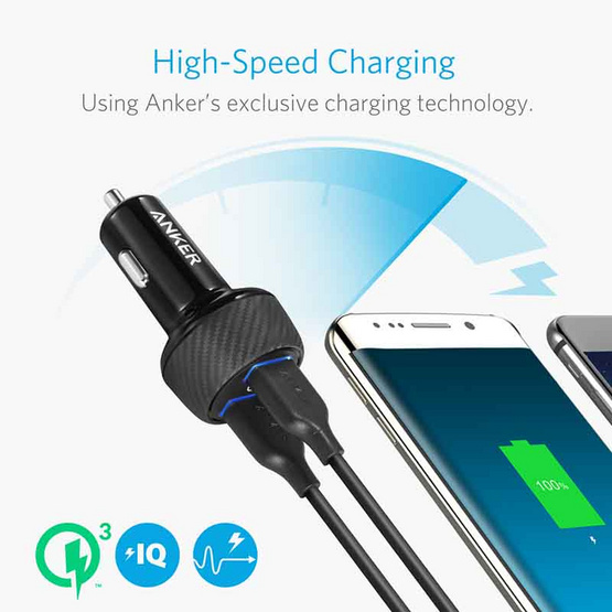 Anker PowerDrive Speed 2 Quick Charge