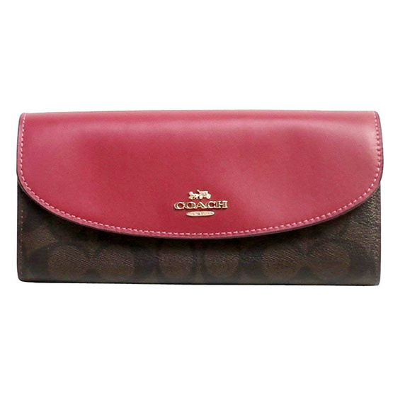 COACH กระเป๋าสตางค์ F54022 SLIM ENVELOPE WALLET IN SIGNATURE (IMNM4) [MCF54022IMNM4]