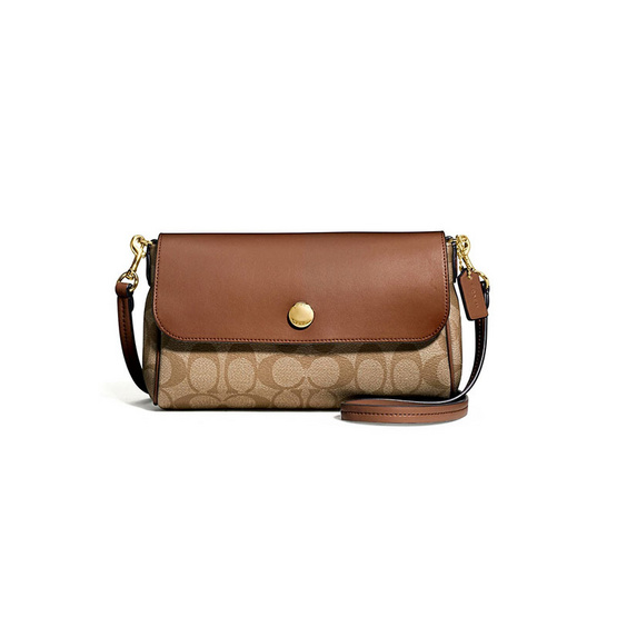 COACH กระเป๋า F59534 REVERSIBLE CROSSBODY IN SIGNATURE COATED CANVAS (IME74) [MCF59534IME74]