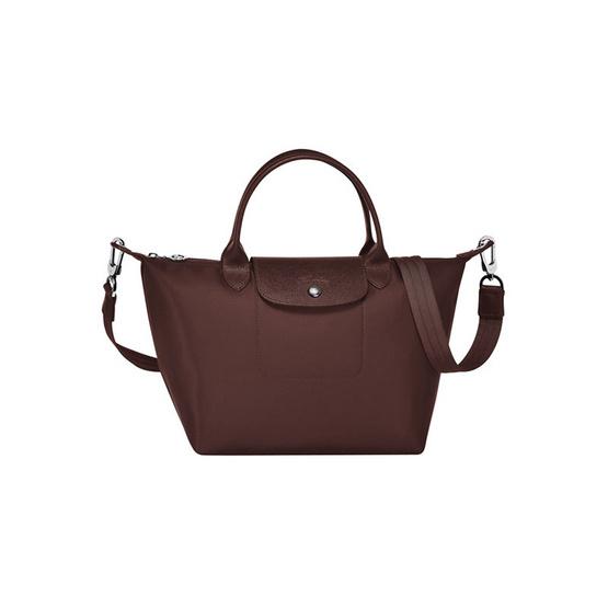 Longchamp กระเป๋า Le Pliage Néo Small Handbag - Chocolat [MCL1512578203]