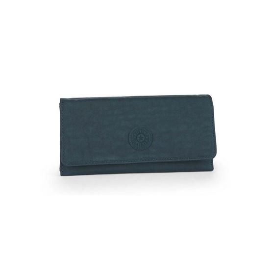 Kipling กระเป๋ากระเป๋าสตางค์ Brownie - Deep Emerald C [MCK1386589W]