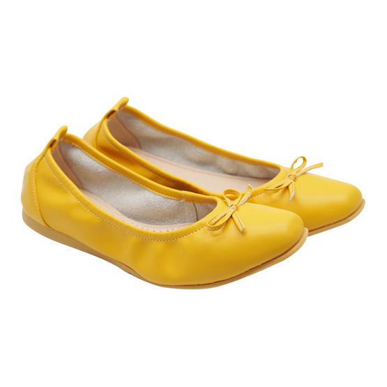 Sofit รองเท้าแฟชั่น Microfiber รุ่น SPM160YL สีเหลือง