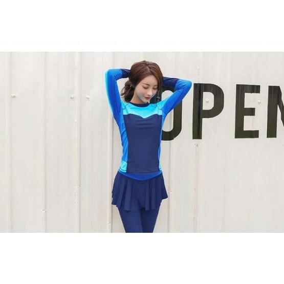ชุดว่ายน้ำทูพีซ รุ่น swim2pcs.