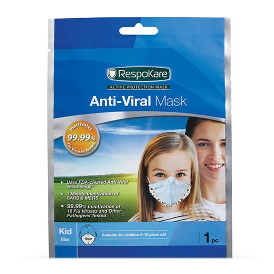 RespoKare เรสโปแคร์ หน้ากากป้องกันไวรัสไข้หวัดใหญ่ สำหรับเด็ก