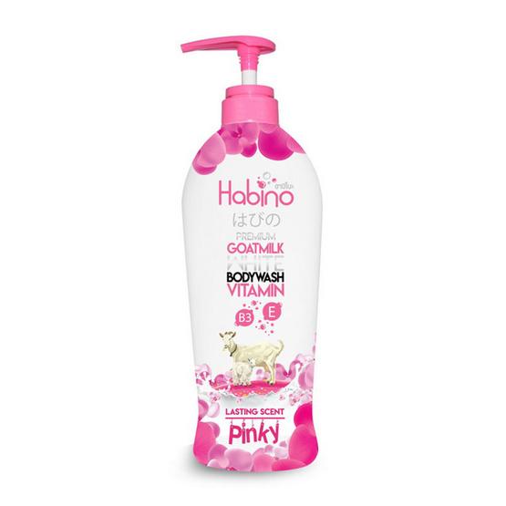 Habino Goatmilk Bodywash lasting scent pinnky 500 ml