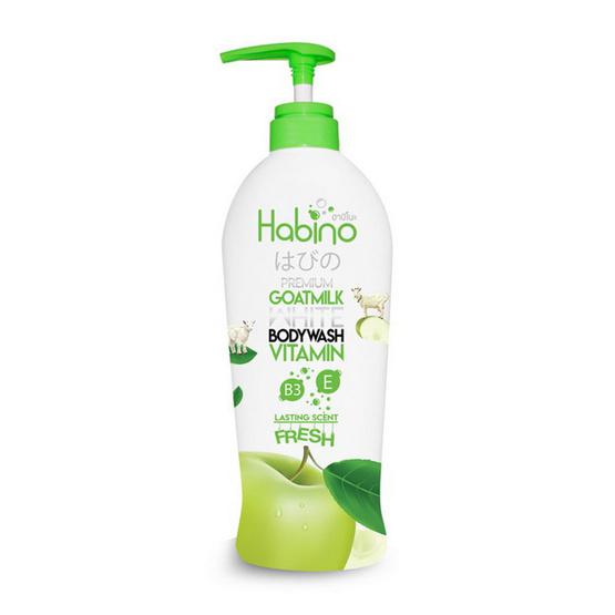 Habino Goatmilk Bodywash lasting scent Fresh 500 ml