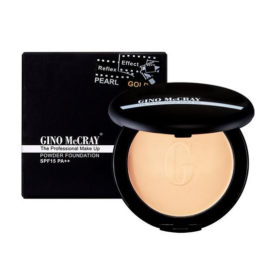 GINO MccRAY แป้งผสมรองพื้น The Professional Make Up SPF 15 PA++